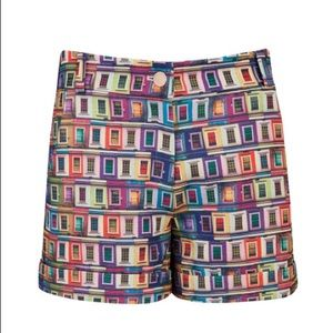 Ted Baker Rainbow Prims Windowpane Print Shorts